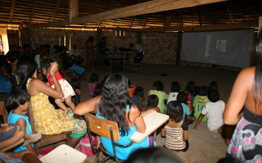 Xinguanos se comprometem a proteger as crianças