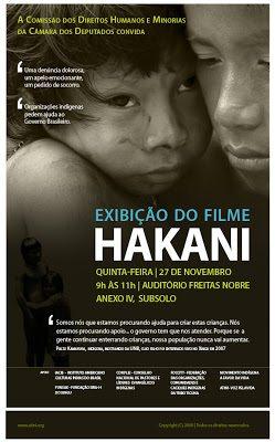 Câmara dos Deputados exibe documentário HAKANI