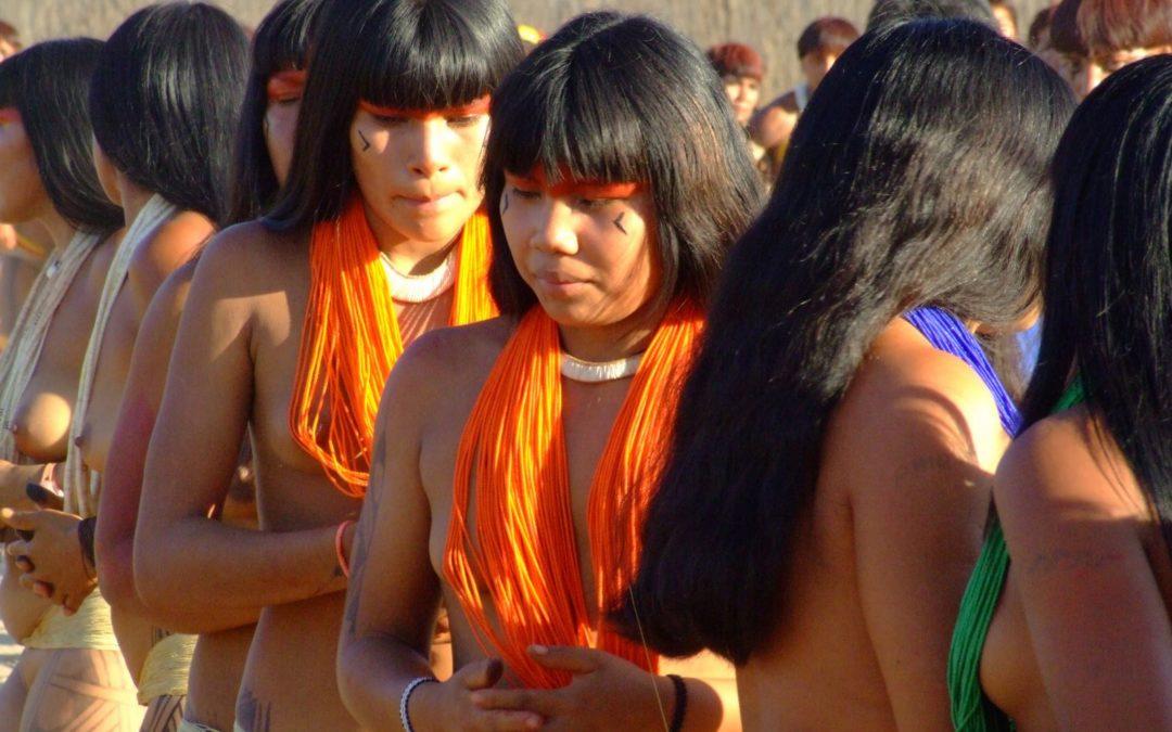Xinguanos se mobilizam em defesa das crianças