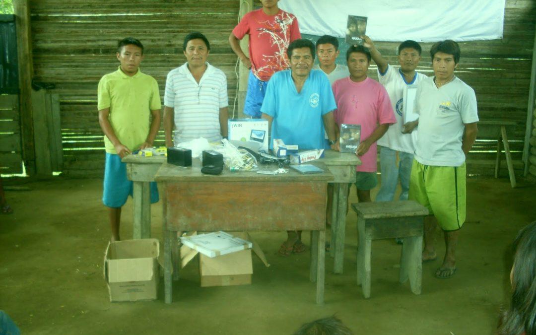 Yanomamis em campanha pela vida
