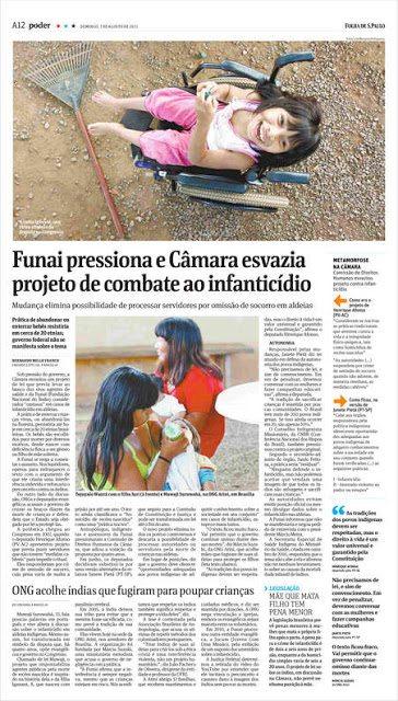 FOLHA DE SÃO PAULO RECONHECE IMPORTÂNCIA SOCIAL DO TRABALHO DA ATINI