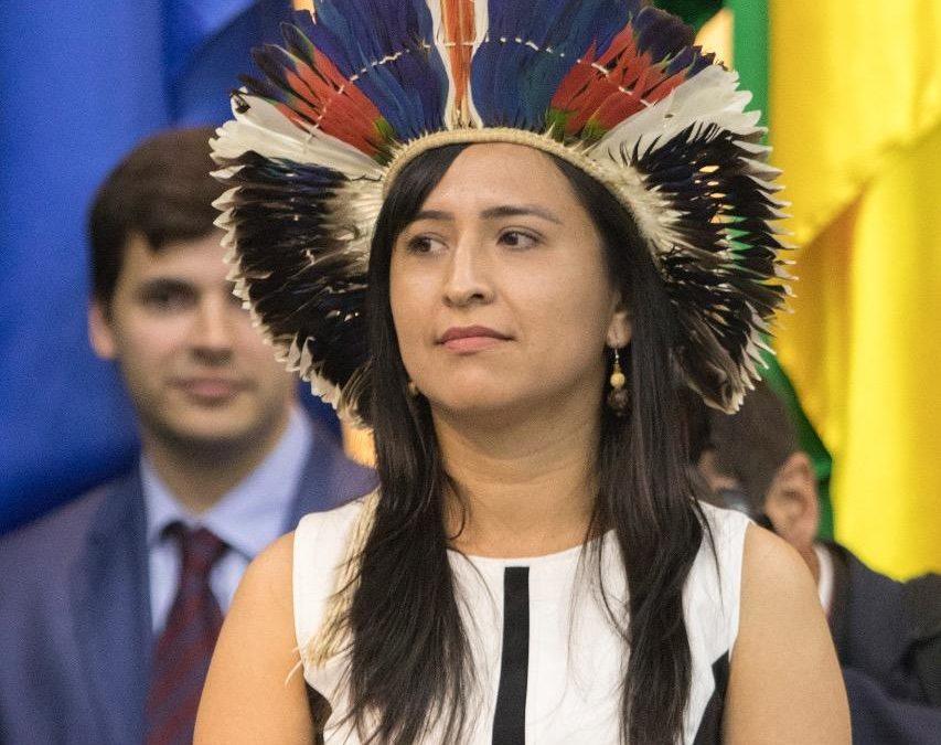 Sandra Terena é a primeira indígena da história a ocupar secretaria no governo federal